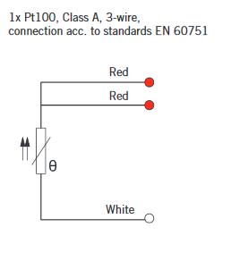temperature sensor pt100, w-cable-8/150-15000/sil-3-a,